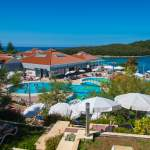 Poolanlage im Resort Belvedere in Vrsar - Istrien - Kroatien