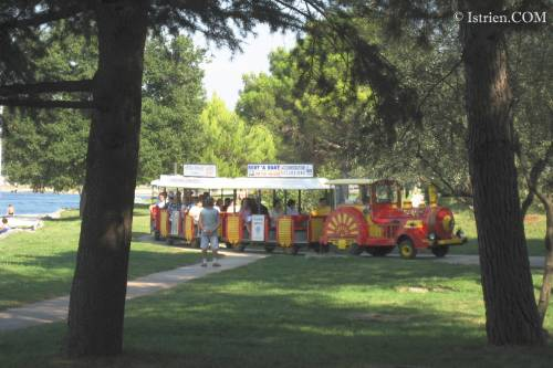 Bummelzug in Porec - Istrien